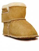 Ботинки на овчине HOPPEDIZ (размер 16/17, коричневый)