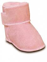 Детские ботинки на овчине HOPPEDIZ (размер 18-19, розовый), фото 1