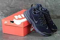 Кроссовки Nike Air Presto мужские зимние (синие), ТОП-реплика , фото 1