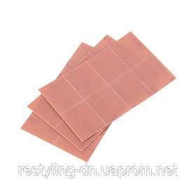 Клейкий шлифовальный лист Tolecut 29 х 35 мм, 1/8, Р2000, цвет розовый