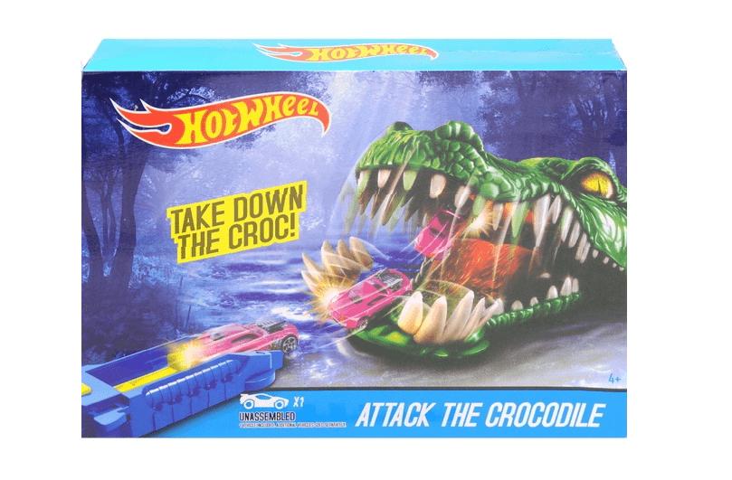 "Трек HotWheel ""Attack the crocodile"""