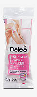 Balea 2-Klingen Einweg Rasierer Женская одноразовая бритва 2-лезвия 5 шт.