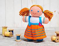 Вязаная кукла Девочка ФРЕЯ