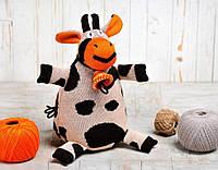 Вязаная кукла «Корова Карамелька» ФРЕЯ
