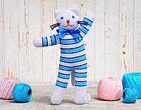Вязаная кукла «Кот Матроскин» ФРЕЯ