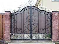 """Кованые ворота и калитка """" Стелла """""""