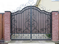 """Кованые ворота  """" Стелла """""""