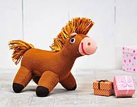 Вязаная кукла «Лошадка Гаврюша» ФРЕЯ