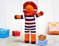 Вязаная кукла «Львенок Боня» ФРЕЯ