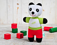 Вязаная кукла «Панда Бамбук» ФРЕЯ