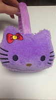 Меховые наушники Hello Kitty