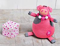 Вязаная кукла Свинка Нюша ФРЕЯ
