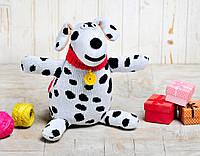Вязаная кукла «Собака Филя» ФРЕЯ