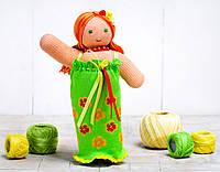 Вязаная кукла Фея Цветов ФРЕЯ