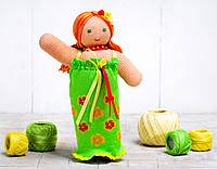 Вязаная кукла «Фея Цветов» ФРЕЯ