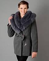 Зимнее пальто женское бант. код5050
