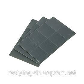 Клейкий шлифовальный лист Tolecut 29 х 35 мм, 1/8, Р3000, цвет черный