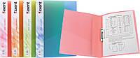 Папка с прижимом А4, цвет ассорти
