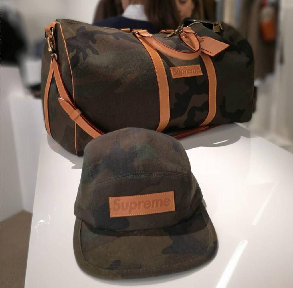Supreme X Louis Vuitton сумка камуфляж, цена 10 400 грн., купить в ... c34fafac77b