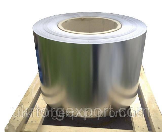 Холоднокатаная лента нержавеющая  из коррозионно-стойкой и жаростойкой стали толщиной — 0,1…0,5
