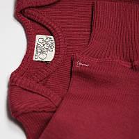 Джемпер джуниор из шерсти мериноса MAM ManyMonths (размер 62-80/86, бордовый)