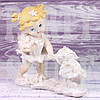 Фигурка Ангела с зайчиком
