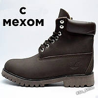 Ботинки Timberland Classic Boots Коричневый (мужские, с мехом)