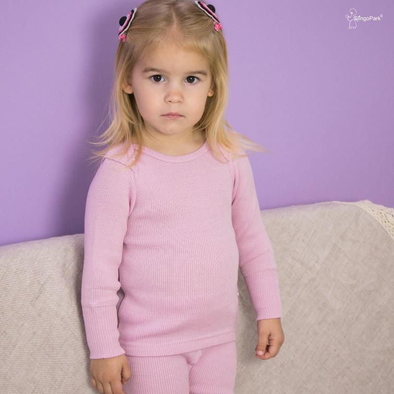 Термоджемпер Junior из шерсти мериноса MAM ManyMonths (размер 62-80/86, розовый)
