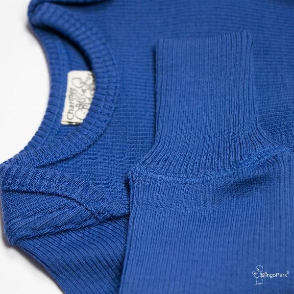 Термоджемпер Junior из шерсти мериноса MAM ManyMonths (размер 62-80/86, синий)
