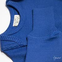 Джемпер джуниор из шерсти мериноса MAM ManyMonths (размер 62-80/86, синий)