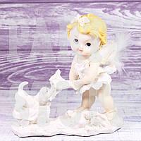 Фигурка Ангела с собачкой