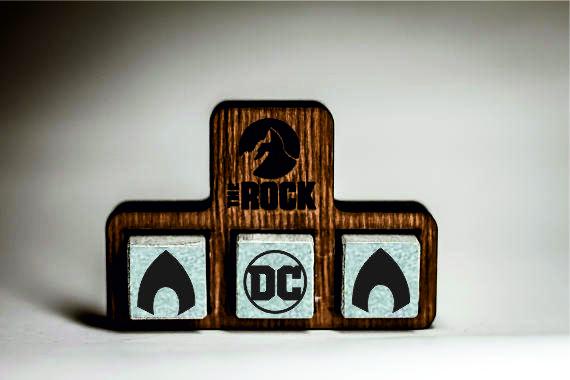 Камни для виски Whiskey stones THEROCK DC Comics Aquaman