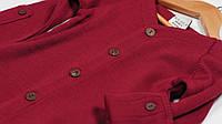 Кардиган из шерсти мериноса MAM ManyMonths (размер 50-68/74, бордовый), фото 1