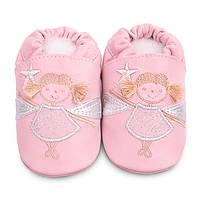 Детские мокасины из натуральной кожи SHOOSHOOS GPK09 Pink Fairy (размер S)