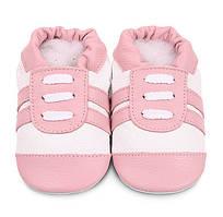 Детские мокасины из натуральной кожи SHOOSHOOS Pink Sports SPK20 (размер M)