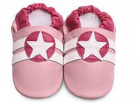 Кеды из натуральной кожи SHOOSHOOS SPK44 Pink Sport /Star (размер L)