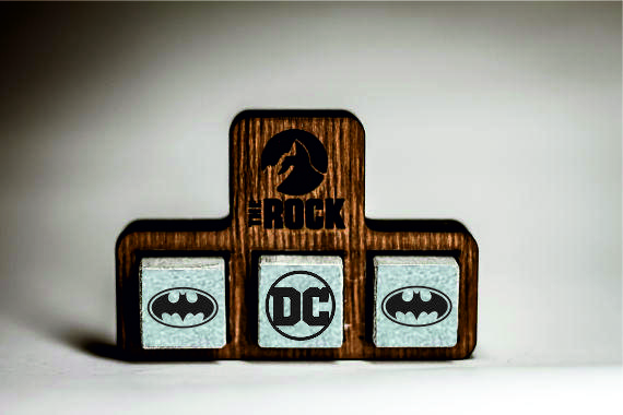 Камни для виски Whiskey stones THEROCK DC Comics Batman