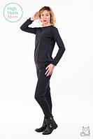 Теплый костюм для беременных и кормящих мам HIGH HEELS MOM (графит, размер M)