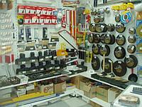Новый стеллаж для магазина стройматериалов. Торговое оборудование. оборудование для магазина
