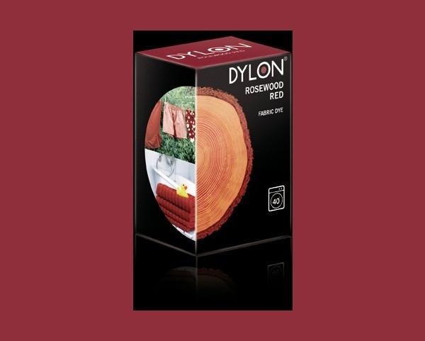 Краска для окрашивания ткани в стиральной машине DYLON Rosewood Red (без соли)
