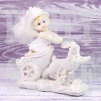 Статуэтка Ангелочек с зайцем