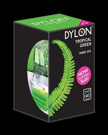 Краска для окрашивания ткани в стиральной машине DYLON Tropical Green