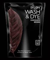 Краска для окрашивания ткани в стиральной машине DYLON Wash & Dye Chocolate Brown