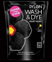 Краска для окрашивания ткани в стиральной машине DYLON Wash & Dye Velvet Black