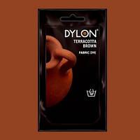 Краска для ткани DYLON Terracotta Brown - для покраски вручную