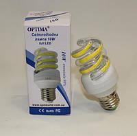 LED лампа 10W 4000К Е27 Optima
