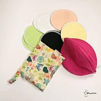 Многоразовые бамбуковые ЭКО-прокладки для груди, набор СЛИНГОПАРК®, фото 1