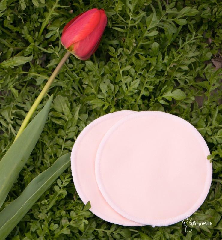 Эко-прокладки для груди SLINGOPARK (персиковый)