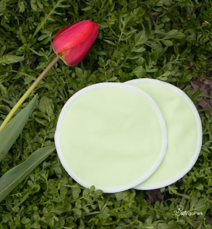 Эко-прокладки для груди SLINGOPARK (салатовый)