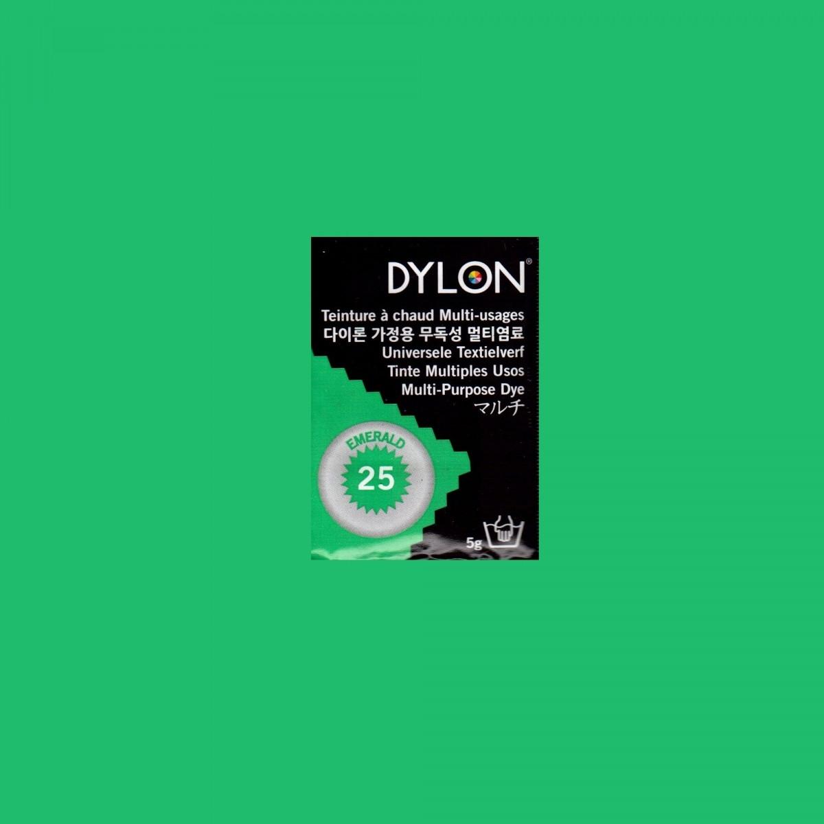 Многоцелевой краситель для ручного окрашивания Зеленый Изумруд (Emerald) DYLON